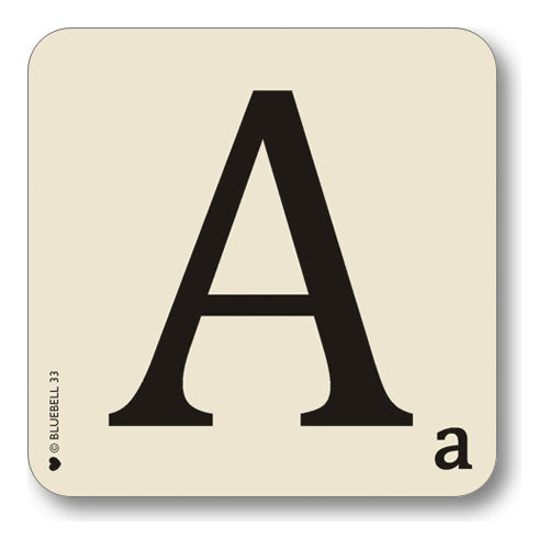Alphabet and Character Coasters