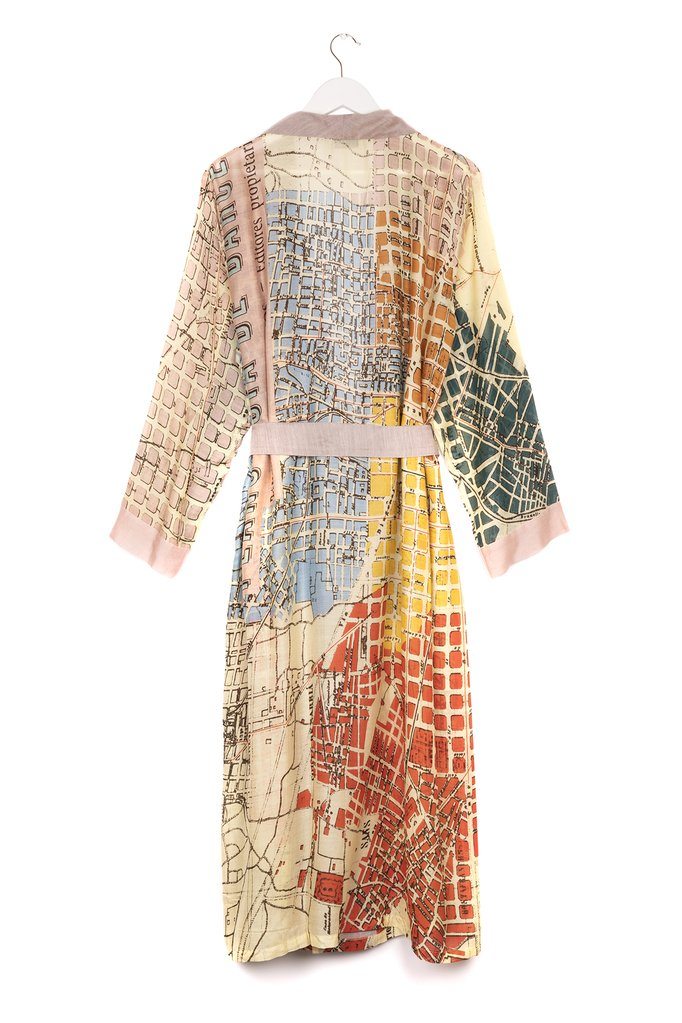 One Hundred Stars Barcelona Map Gown