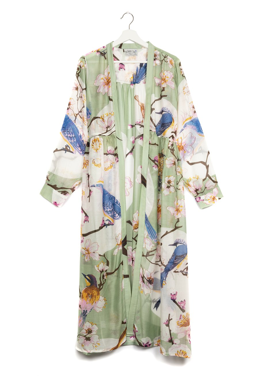 One Hundred Stars Blossom and Birds Duster Coat