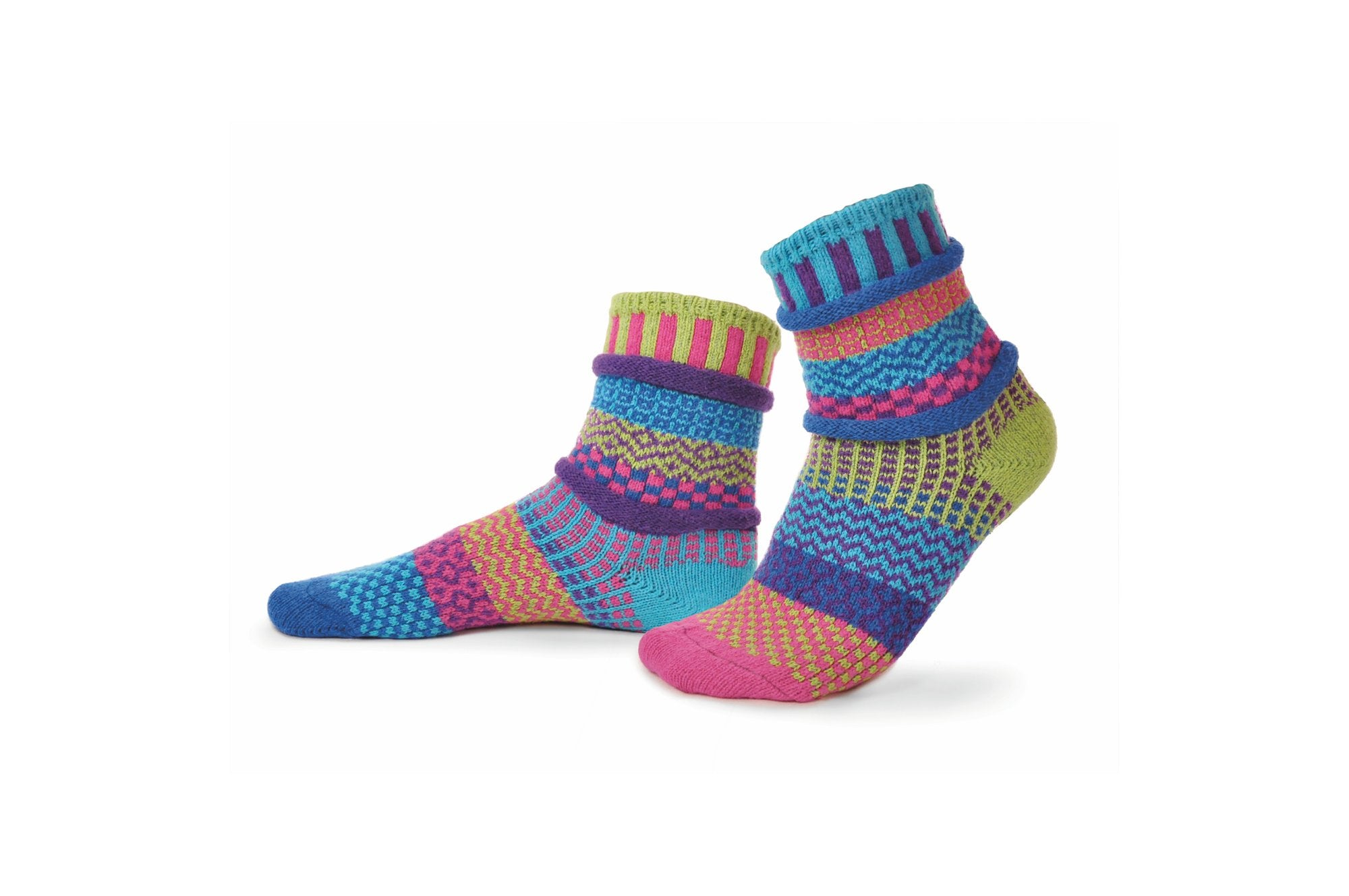 Bluebell Crew Socks by Solmate Socks