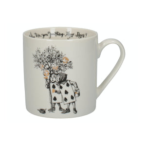 Victoria And Albert Alice In Wonderland Gardeners Mug