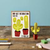 Cactus Pop Out Card