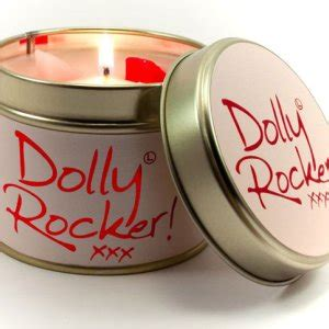 Dolly Rocker Lily Flame Tinned Fragrance Candle