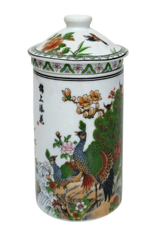 Peacocks Chinese Infuser Cup
