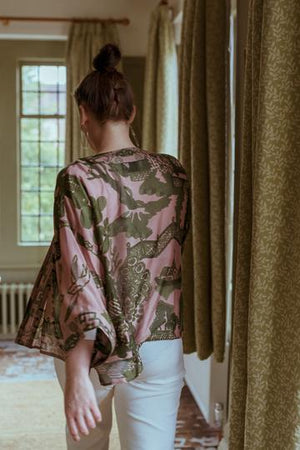 Giant Willow Green Kimono from One Hundred Stars