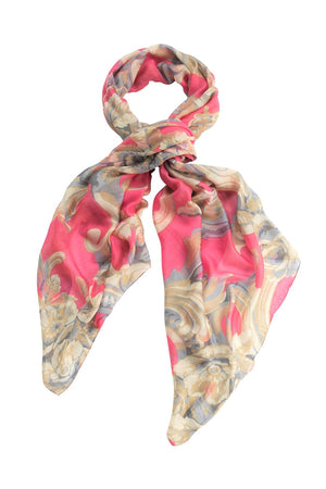 Plaster Roses Pink Scarf from One Hundred Stars