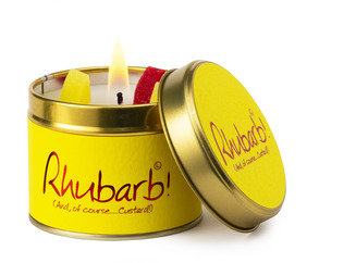 Rhubarb Lily Flame Tinned Fragrance Candle