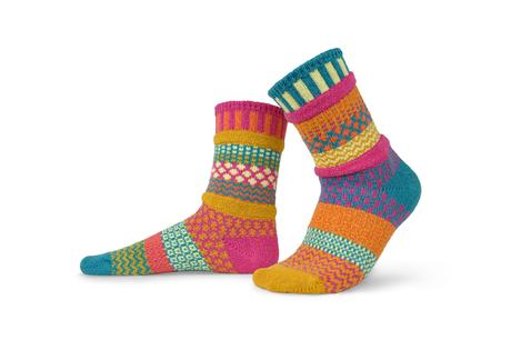 Saffron Crew Socks by Solmate Socks