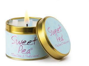 Sweet Pea Lily Flame Tinned Fragrance Candle