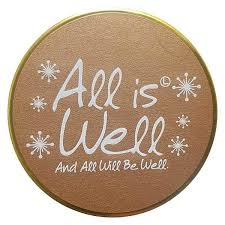 All is Well - Lily Flame Tinned Fragrance Festive Candle