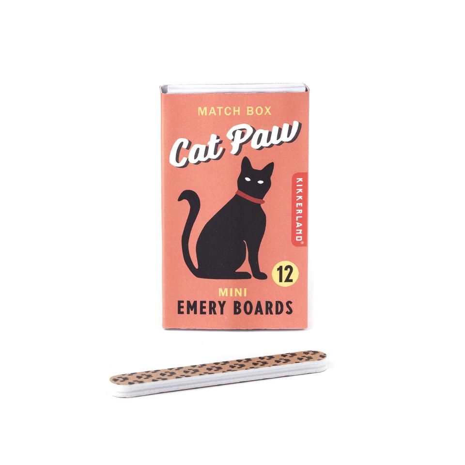 Paw Print Nail Files - Adorable and Practical! Sloths, Cats & Dogs