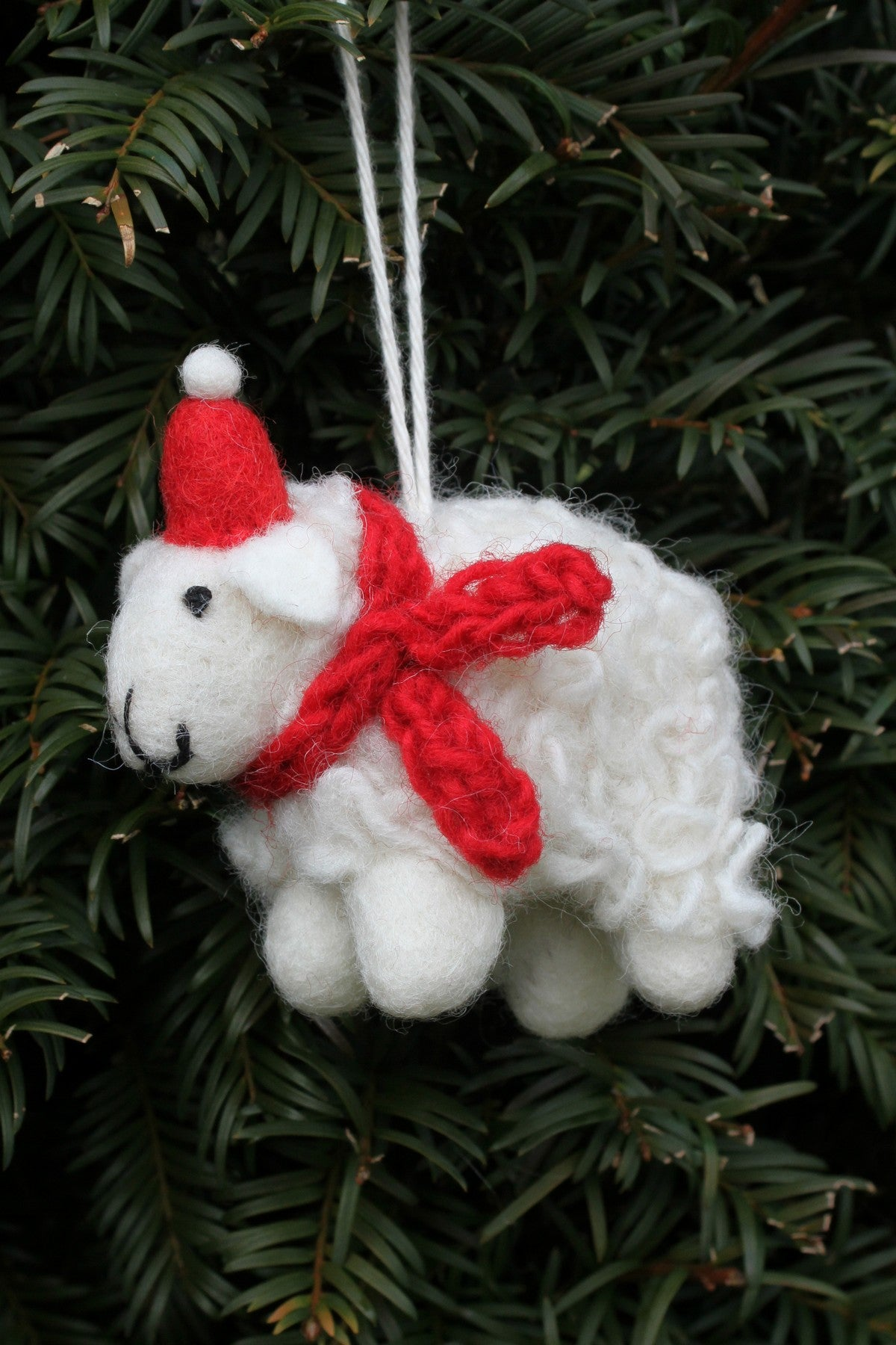 Cosy Sheep Hand felted Decoration
