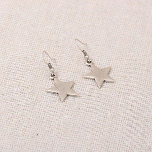 Astra Solid Star Earrings from Treaty