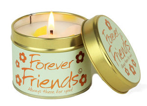 Forever Friends Lily Flame Tinned Fragrance Candle