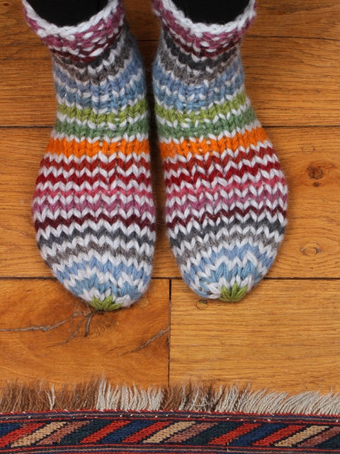 Hoxton Stripe Ladies Sofa Socks