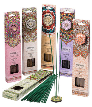 Karma Scents Incense sticks & Holder