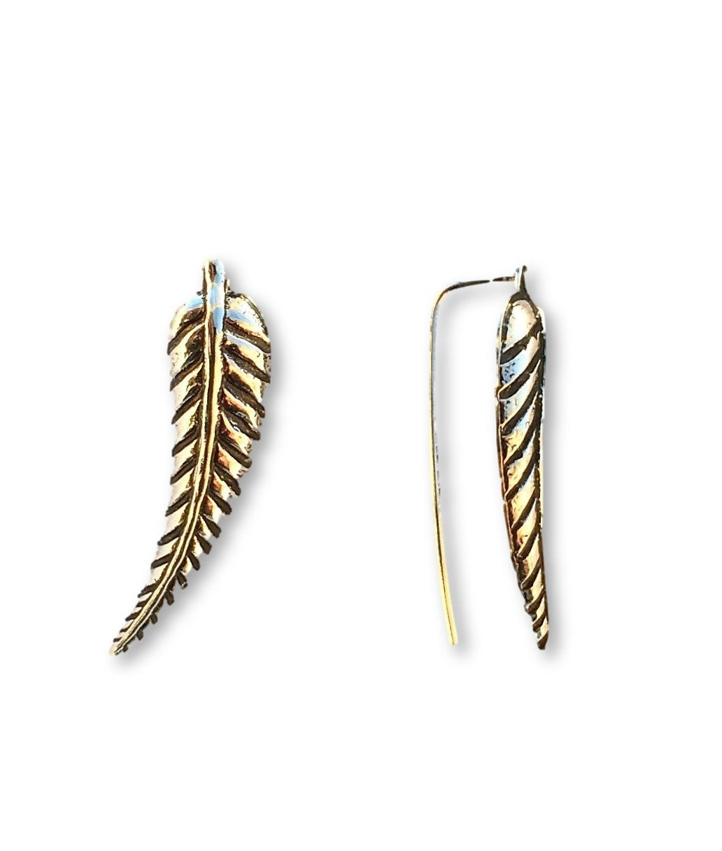 Leaf Ear-Wing Earring .925 Silver
