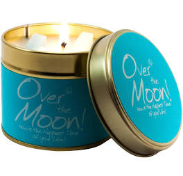 Over the Moon Lily Flame Tinned Fragrance Candle