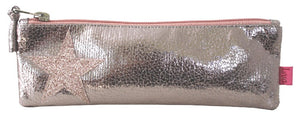 Metallic Star Pencil / Cosmetic Case in 3 Colours