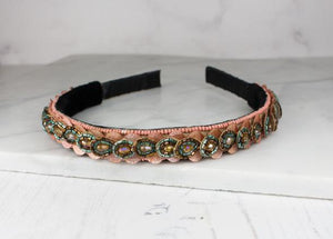 Petal Hairband, available in Pink, Gold and Silver