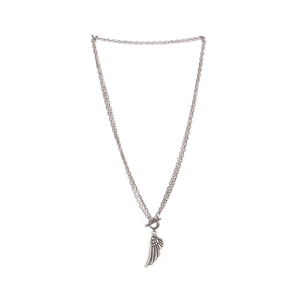 Skylar Angel Wing Adjustable Necklace from Treaty
