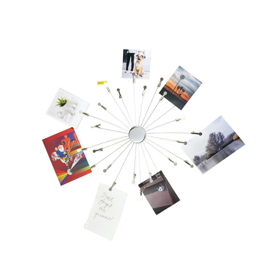 Sun Burst Memo / Photo Holder