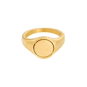 Create your own sunshine ring goud