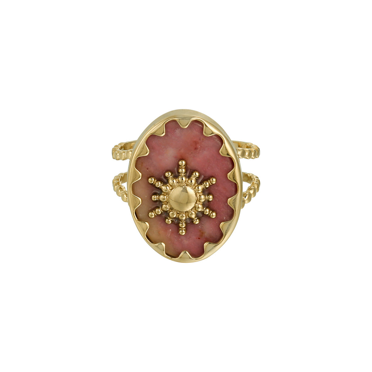 Ray of lights ring roze