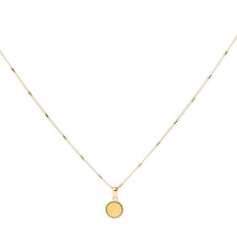 Create your own sunshine ketting goud