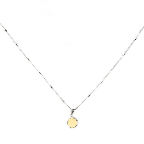 Create your own sunshine ketting goud/zilver