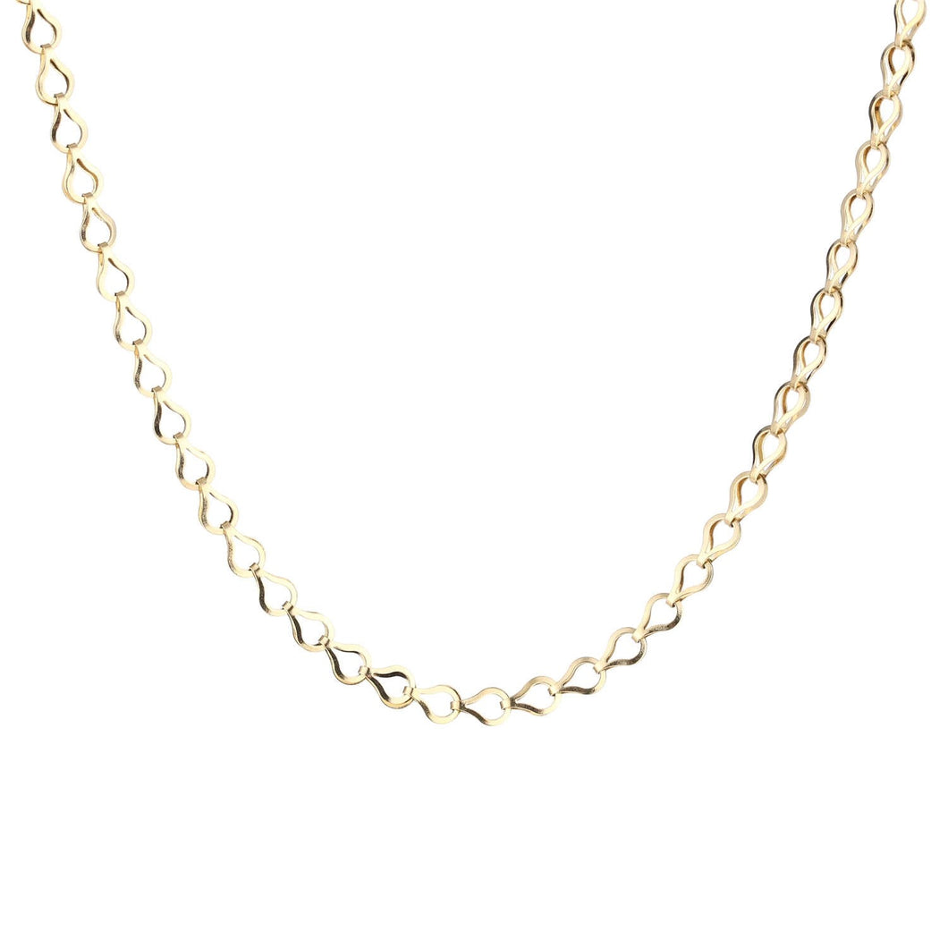 Drop Chain Ketting Goud
