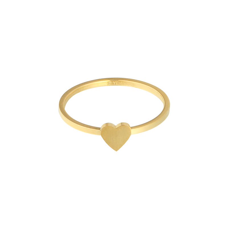 My sweetheart ring goud