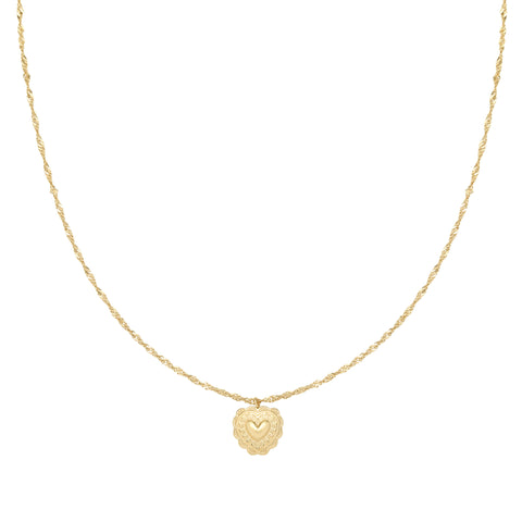 Perfect love ketting goud
