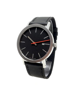 Sao Paolo by Julio Mariutti with black leather strap