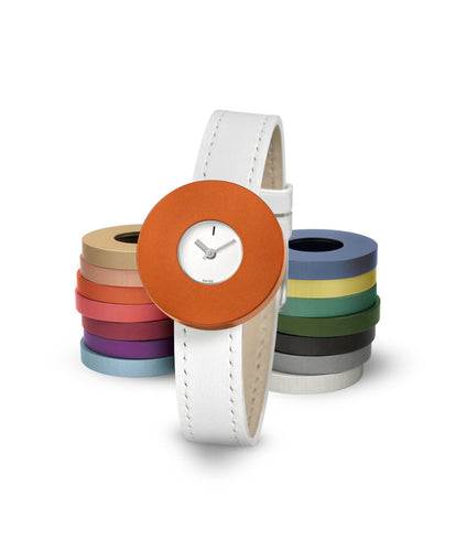 Vignelli MV Small (including 3 coloured rings)