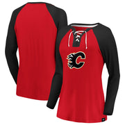 Flames Ladies Breakout Play L/S