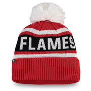 Flames Ladies Fan Weave Cuff Knit
