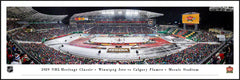 Flames Heritage Classic Plaque Panorama '19