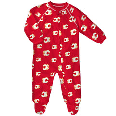 Flames Retro Raglan Coverall
