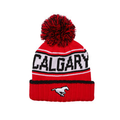 Knit, Heavy Toque Red/Blk STA