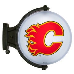 Flames Revolving Wall Light