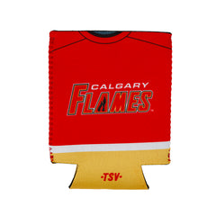 Flames Reversible Can Cooler