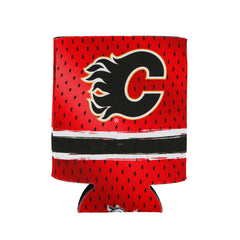 Flames Logo Can Cooler