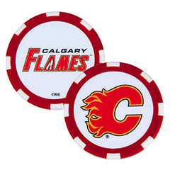 Flames Poker Chip Ball Marker