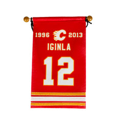 Flames Iginla Retirement Banner