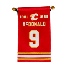 Flames McDonald Retirement Banner