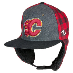 Flames Forester Plaid Cap