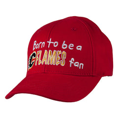 Flames Infant Born To Be Cap