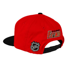 Flames Child Two Tone Snap Cap