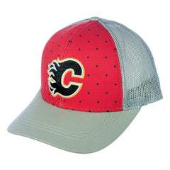 Flames Dot Front Panel Cap